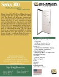 <p>Series 300 Vinyl Steel Outswing Door</p>