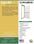 Series 400 Vinyl Steel Outswing Door