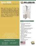 Series 8000 Vinyl Steel House Type Combination Door