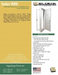 Series 9000 Vinyl Steel House Type Combination Door