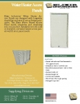 Water Heater Access Panels